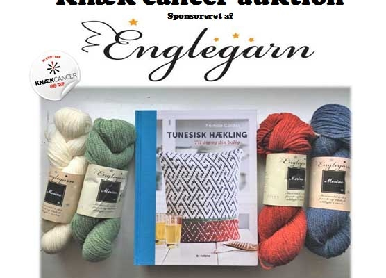 Englegarn st�tter: Vi h�kler for kn�k cancer