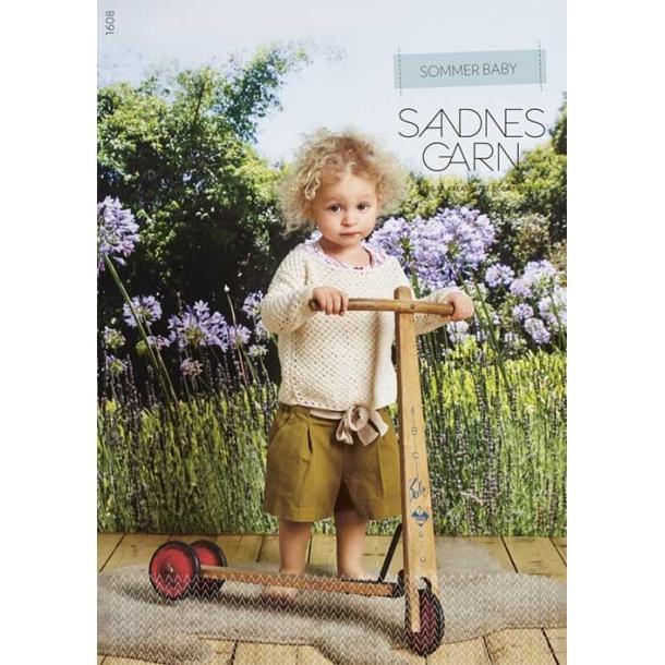 Sommerbaby 1608 strikkemagasin