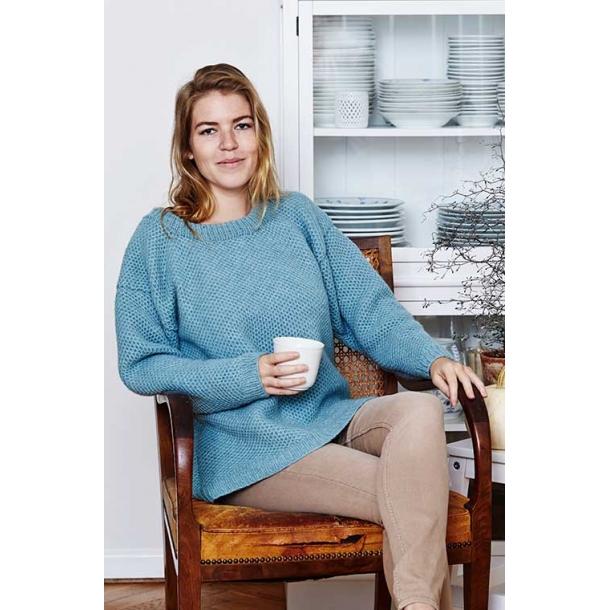 Bikubesweater til damer - strikkekit