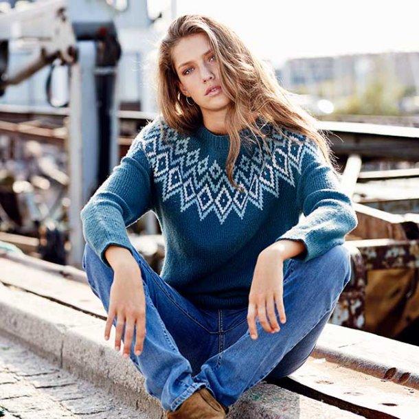 Camille Sweater - strikkekit str XXL