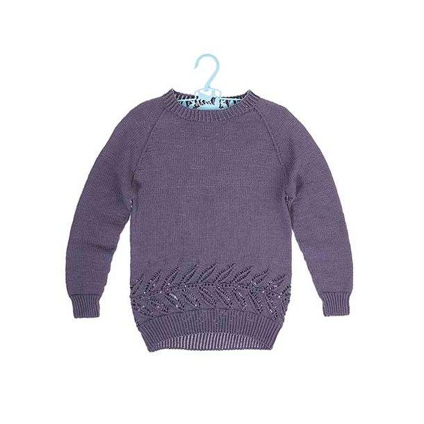 Celeste Pigesweater - strikkekit str 4 år