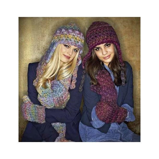 strikkeopskrifter halstørklæde gratis