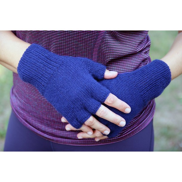 Fingerløse Handsker - garnkit
