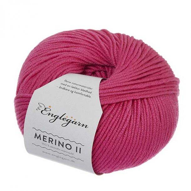 Englegarn Merino II Pink 286 100 - 125 m 3½-4½ mm 18 - 20 m