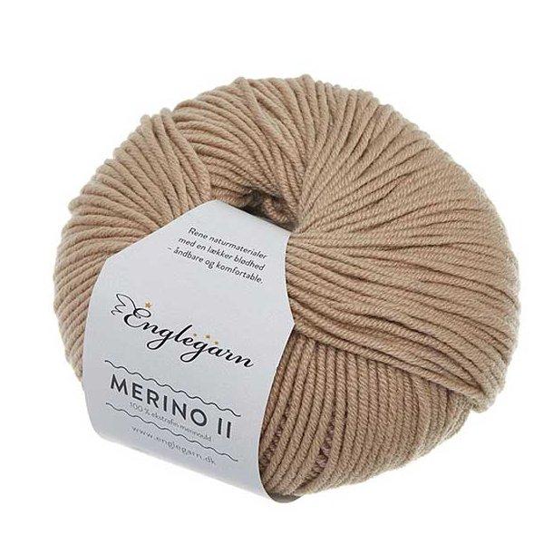 Englegarn Merino II Sand 046 100 - 125 m 3½-4½ mm 18 - 20 m
