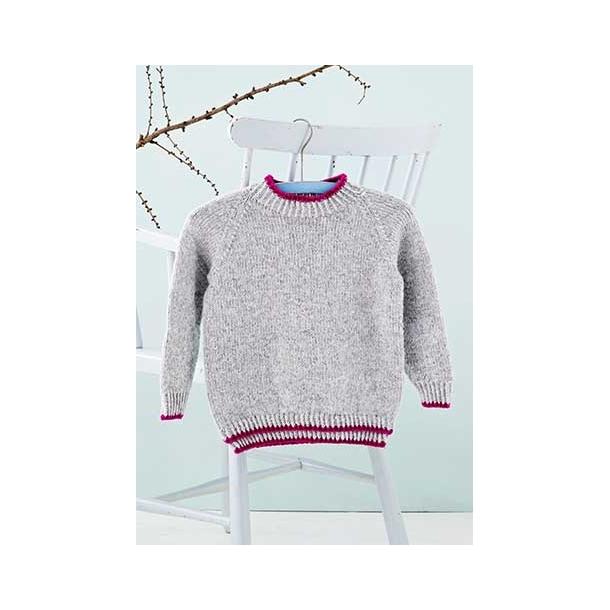 Mig & Mille Raglansweater Strikkekit