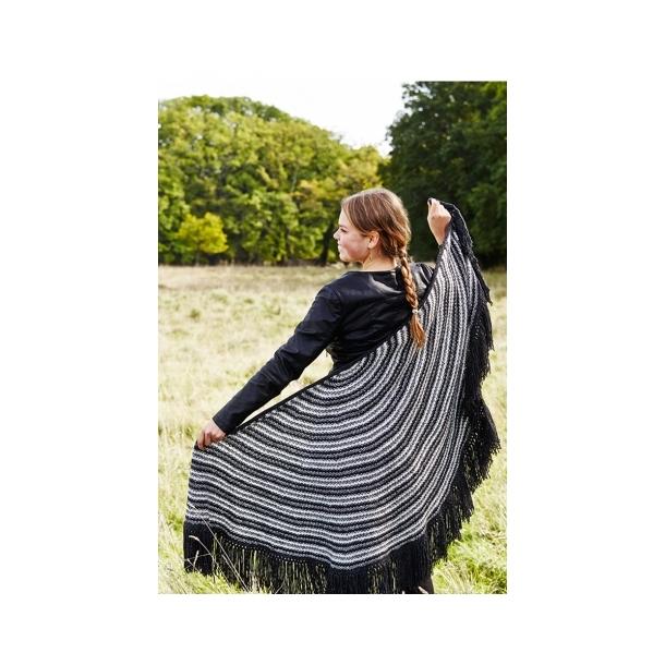 Solaris Halvcirkelsjal strikkekit