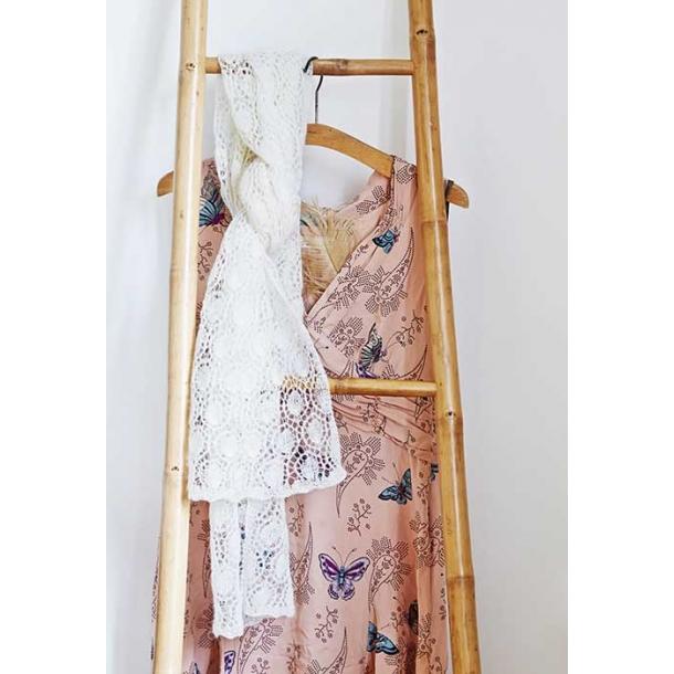 Soleil tørklæde med hulmønster - strikkekit