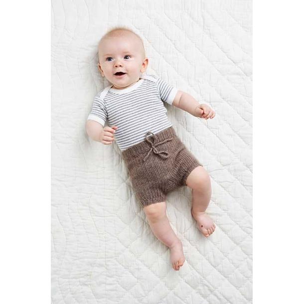 Hæklede Babybukser - hæklekit