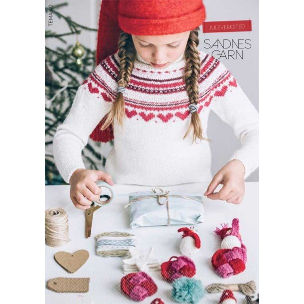 Tema 40 Juleværksted - strikkemagasin